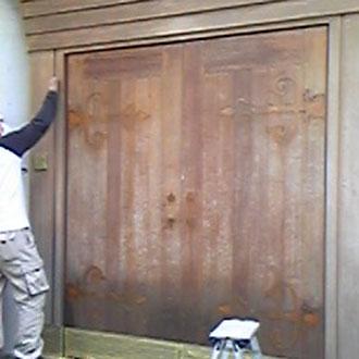 門扉のリニューアル