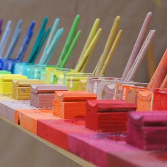 Pinsel Farben Malen Viersen