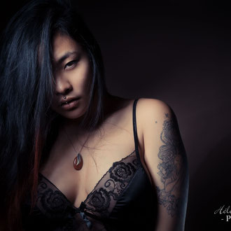 photographe située près de Paris réalise book photo lingerie