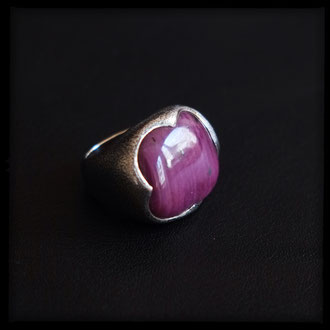 Morganen Ring - Ruby, Sterling Silver