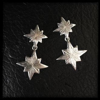 Starborn Earrings - Sterling Silver