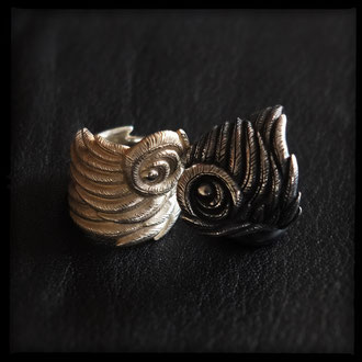 Pegasus Rings - Sterling Silver