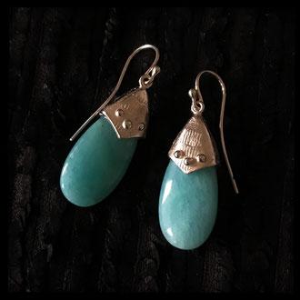 Secret Garden Earrings - Amazone, Sterling Silver