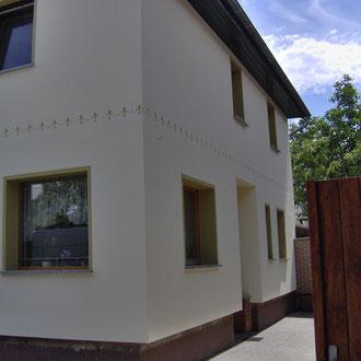 Individuelle Fassadengestaltung · Malermeister Schombel · Cottbus · Burg