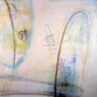 Winter, Acryl auf Leinwand 106 cm x 130 cm