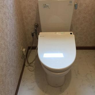 トイレ水漏れ修理完成写真
