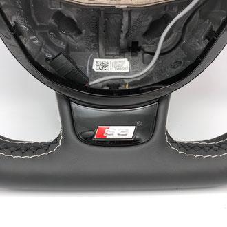Détail volant Audi S3