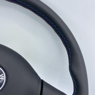 Détail volant BMW M5