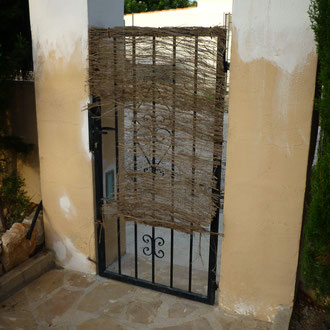 Replacing old entrance doors