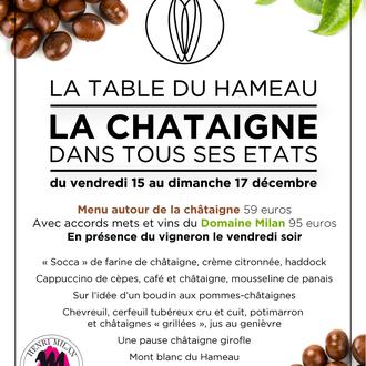 La Table du Hameau, the Hameau des Baux's restaurant