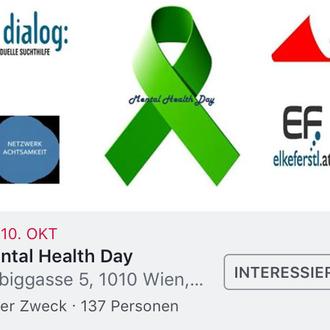 """Workshop """"Achtsamkeit entdecken"""" World Mental Healt Day Universtität Wien, Stv. Psychologische Fakultät"""