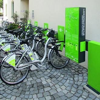 e-Bike Tankstelle