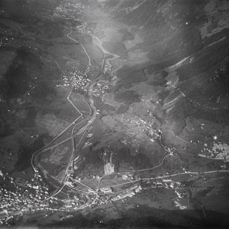 Flugaufnahme vor 1940