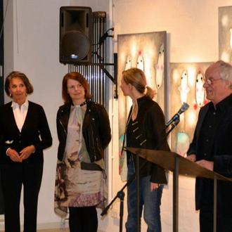Fabrik der Künste, Hamburg mit Künstler- Kollegen