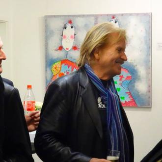 """Hedda"" mit Frank Zander in Oberursel, Galerie Hofmann"