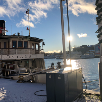 Winterliches Stockholm