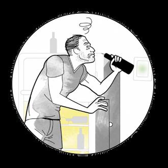 REWE : ILLUS - Was hilf im Neujahr gegen den Kater