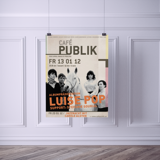 Cafe Publik | Design Poster, Flyer, Web