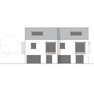 Doppelhaus Neu-Ulm - Plan