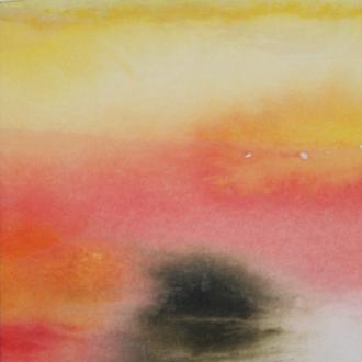 sunrise, 2/2, 20x40, 2008