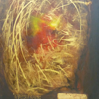 Über die Liebe, Acryl auf Leinwand, 60x80, 2011