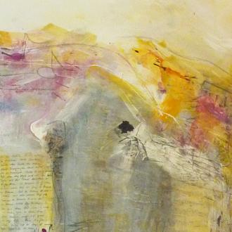 Das Schönste (1/3), 40x100, 2012