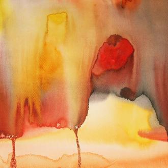 Wüstenstadt, 30x40, 2008