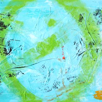 Mondfinsternis, 40x80, 2007, Acryl auf Leinwand