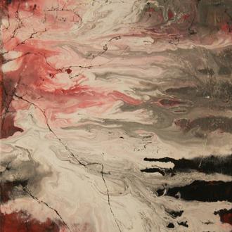 Flow, Acryl auf Leinwand, 40x50 cm, 2017