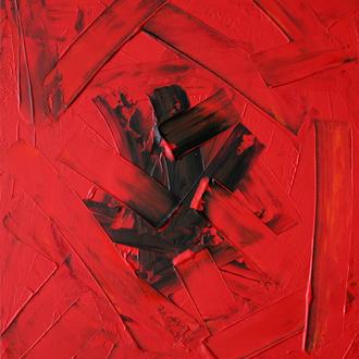 Die Befreiung, 50x60cm, Acryl auf Leinwand,  2006