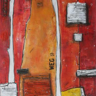 Der Weg, 70x100, 2009
