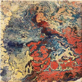Wetland III, Acryl auf Leinwand, 30x30 cm, 2018
