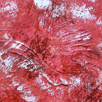 Fossil, 18x24, 2005, Acryl auf Leinwand