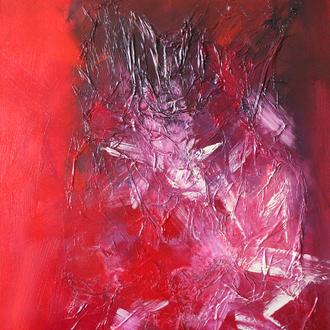 Caveman, 50x60, 2007, Acryl auf Leinwand