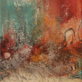 Vienna Symphony, Acryl auf Leinwand, 50x60 cm, 2017