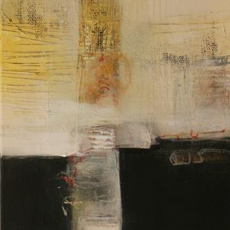 Materie und Energie, Acryl auf Leinwand, 40x80 cm, 2018