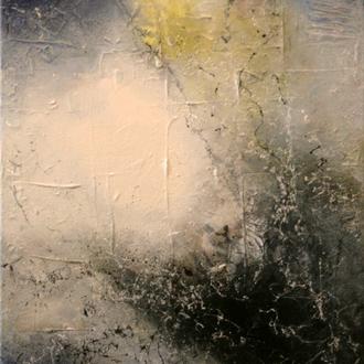 Iceland III, 2018, Acryl auf Leinwand, 40x50 cm