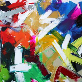 Abstrakt, 70x90, 2007