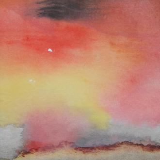 sunrise, 1/2, 20x40, 2008