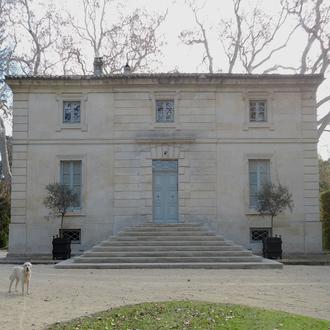 Réfection du perron d'entrée du Château de Vers (30)