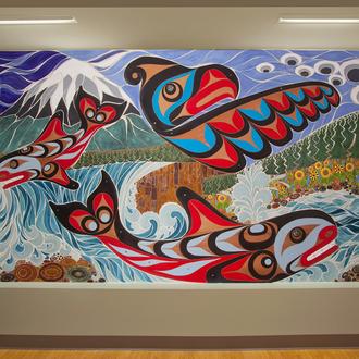 Tacoma General Hospital Mural 2014