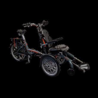 Rollstuhlrad von Van Raam, das O-Pair