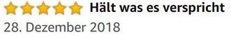 Link zu Amazon. Bewertung von SUDHAUS Mülltonnenschloss.