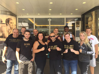 2. Trainingscamp M's-Gym Bern August 2016, Interlaken (BE)