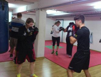 Fitnessboxen (Technik/ Schlagschule) Januar 2016 @ M's-Gym Bern Ittigen