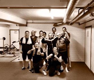 12er-Gruppe Fitness-Boxen Juni 2015 @ M's-Gym Bern Ittigen