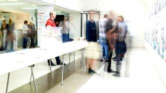 """Ausstellung_""""gemeinsam bauen""""_HDA Graz_2009_Foto Michael Sladek"""