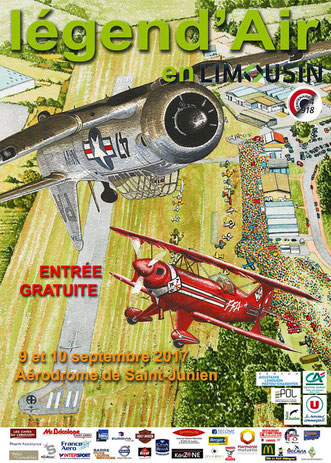Legend'Air en Limousin 2017