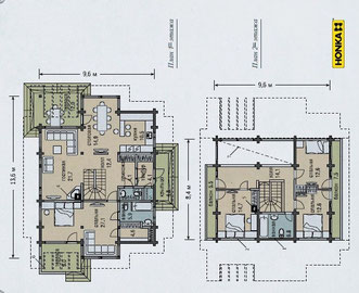 План дома Хонка 209