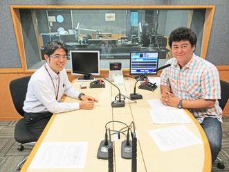 FMフクオカ おいしい話うれしい時 DJ 黒川修さん